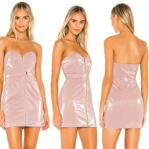 NWT $168 H:ours Mona Mini Dress in Blush